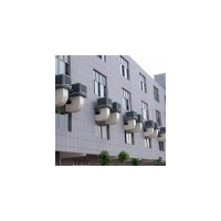 镇江水空调冷风机安装丹阳负压风机管道水帘墙降温空调安装