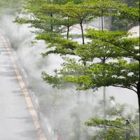 高压喷雾系统雾森系统景观喷雾降温加湿高压雾化系统
